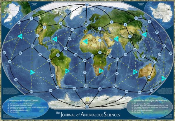 Ley Lines Southern California Map.Incredible Find Out Where The Earth S Chakras Lie Ancient Explorers