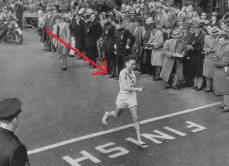 19 year-old Japanese Man Survived The Atomic Bomb In Hiroshima And Won The Boston Marathon