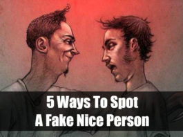 Ways To Spot A Fake Nice Person
