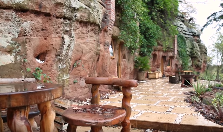 Man Built An Amazing House In A 700-Year-Old Cave 5
