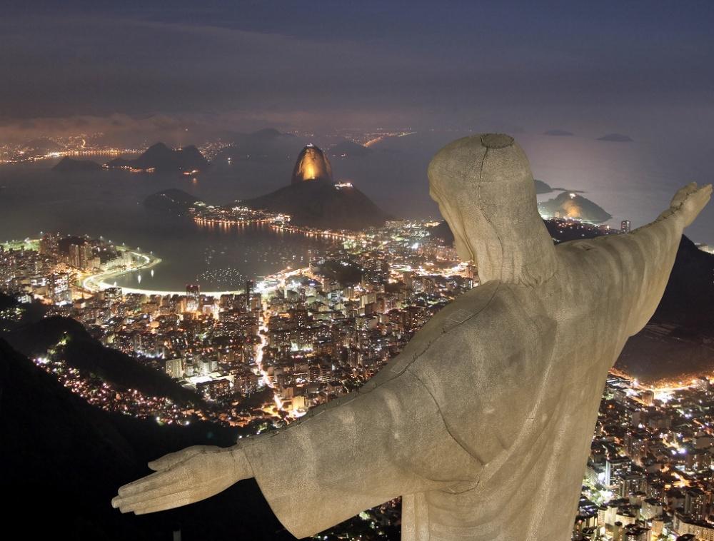 Corcovado mountain, Rio de Janeiro, Brazil