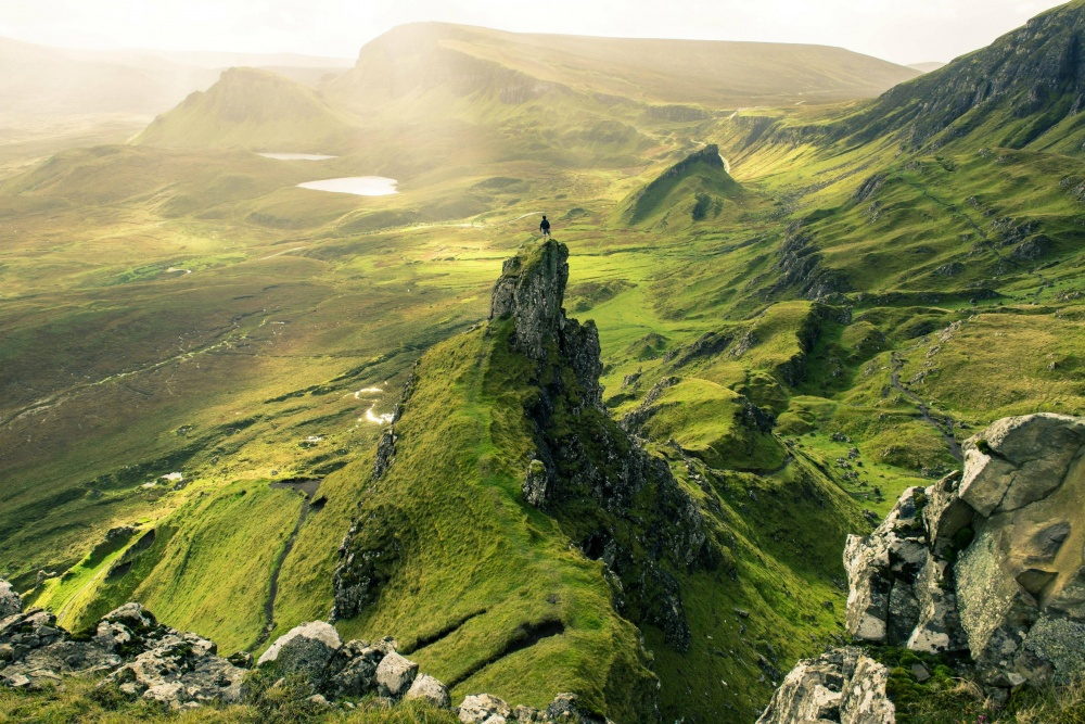 The island of Skye, Scotland