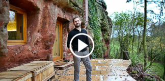 Man Built An Amazing House In A 700-Year-Old Cave