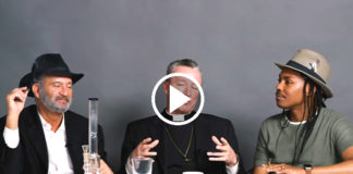 Rabbi Priest Homosexual Atheist Smoke Weed Together...