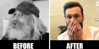 Homeless Man Transformed