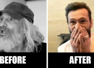 Homeless Man Transformed