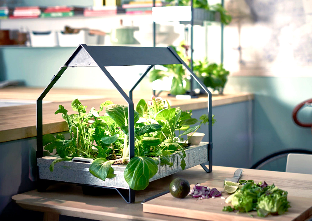 Ikea's Hydroponic System Allows You To Grow Vegetables All ...