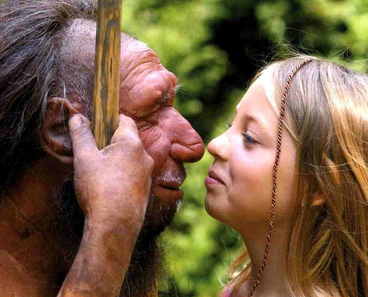 New Research Concludes That Some Neandratals Were Possibly Kissing Modern Humans