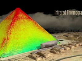 Something Heating Inside Egypt's Ancient Pyramids