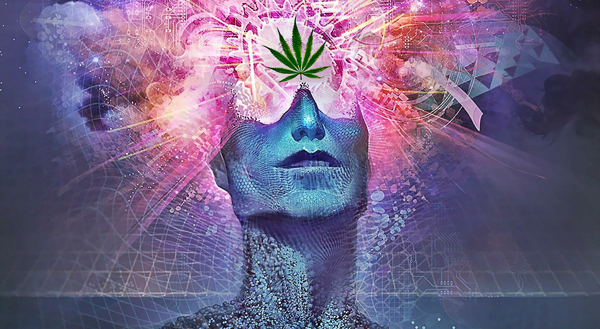 THIS Is What Happens In The 3rd Eye When We Smoke Cannabis... 1