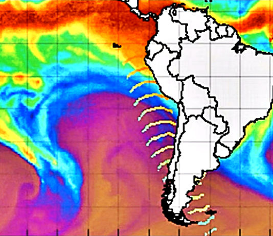 BREAKING Mysterious Wave Of Energy Is Beaming Out Of Antarctica These Past Couple Of Days