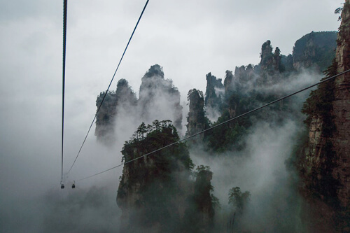 Most Beautiful Places On Earth 3.-Tianzi-Mountain-Nature-Reserve-GC¦зo¦В-Hunan-China