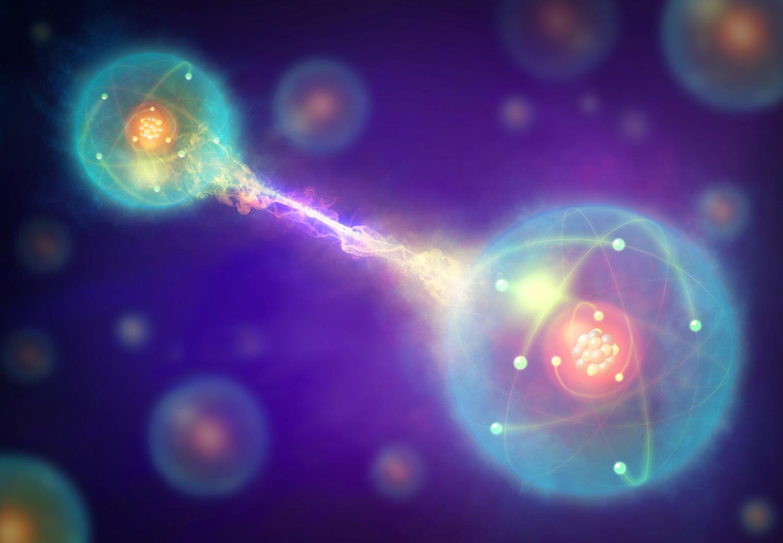 Enchevêtrement quantique
