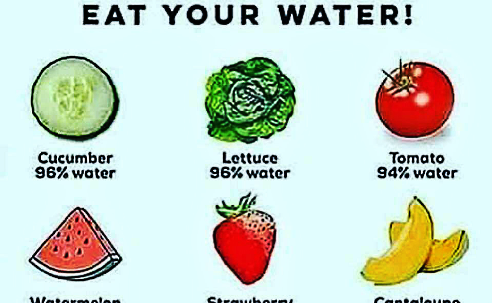 9 Foods That are Over 80% Water