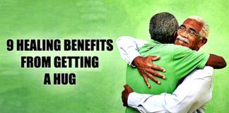 Healing Benefits From A Hug