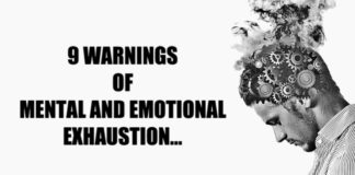 Signs Of Mental And Emotional Exhaustion