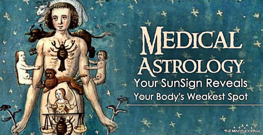 Medical Astrology Reveals The Weakest Aspects Of Each Zodiac Sign