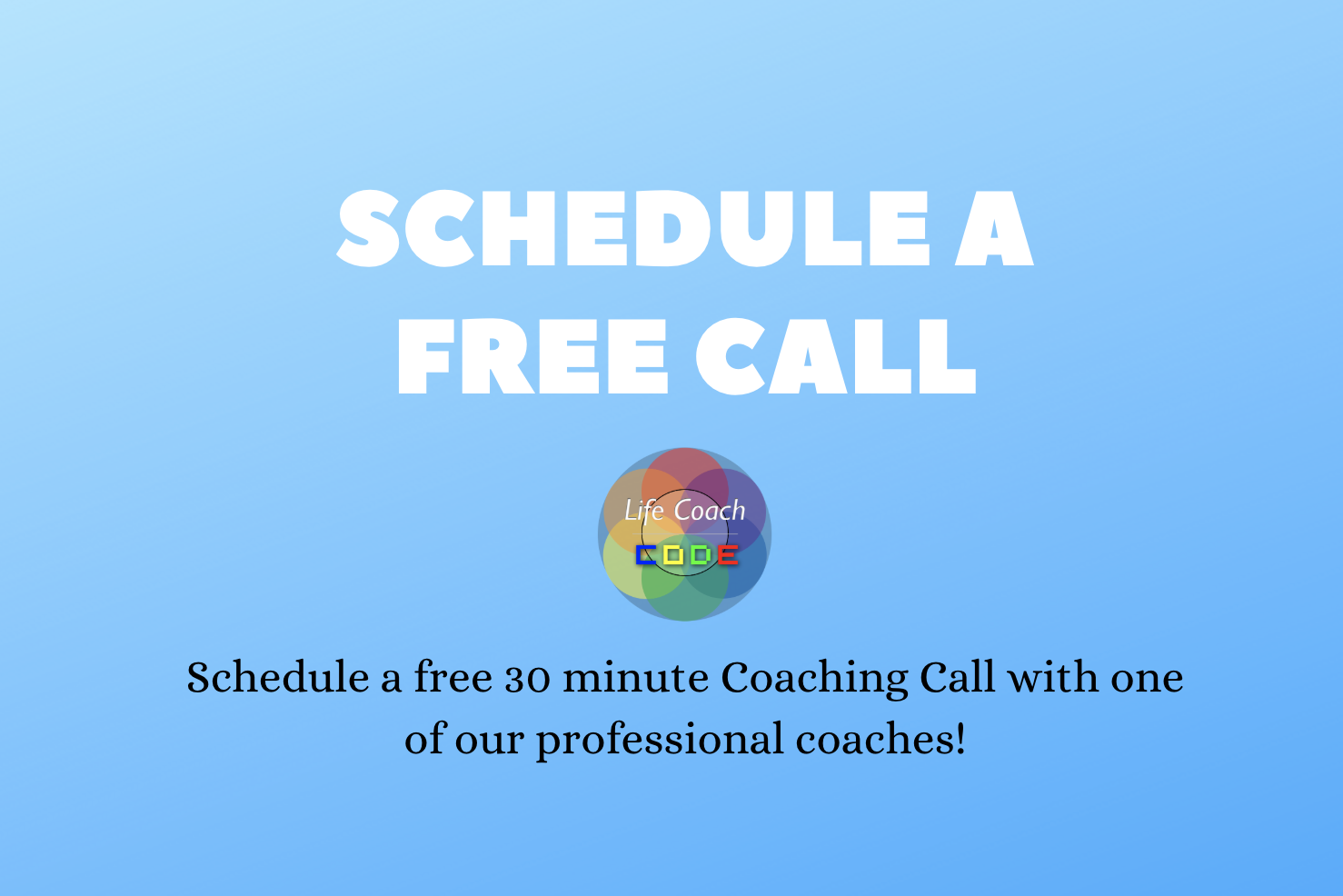 Free Coaching Call