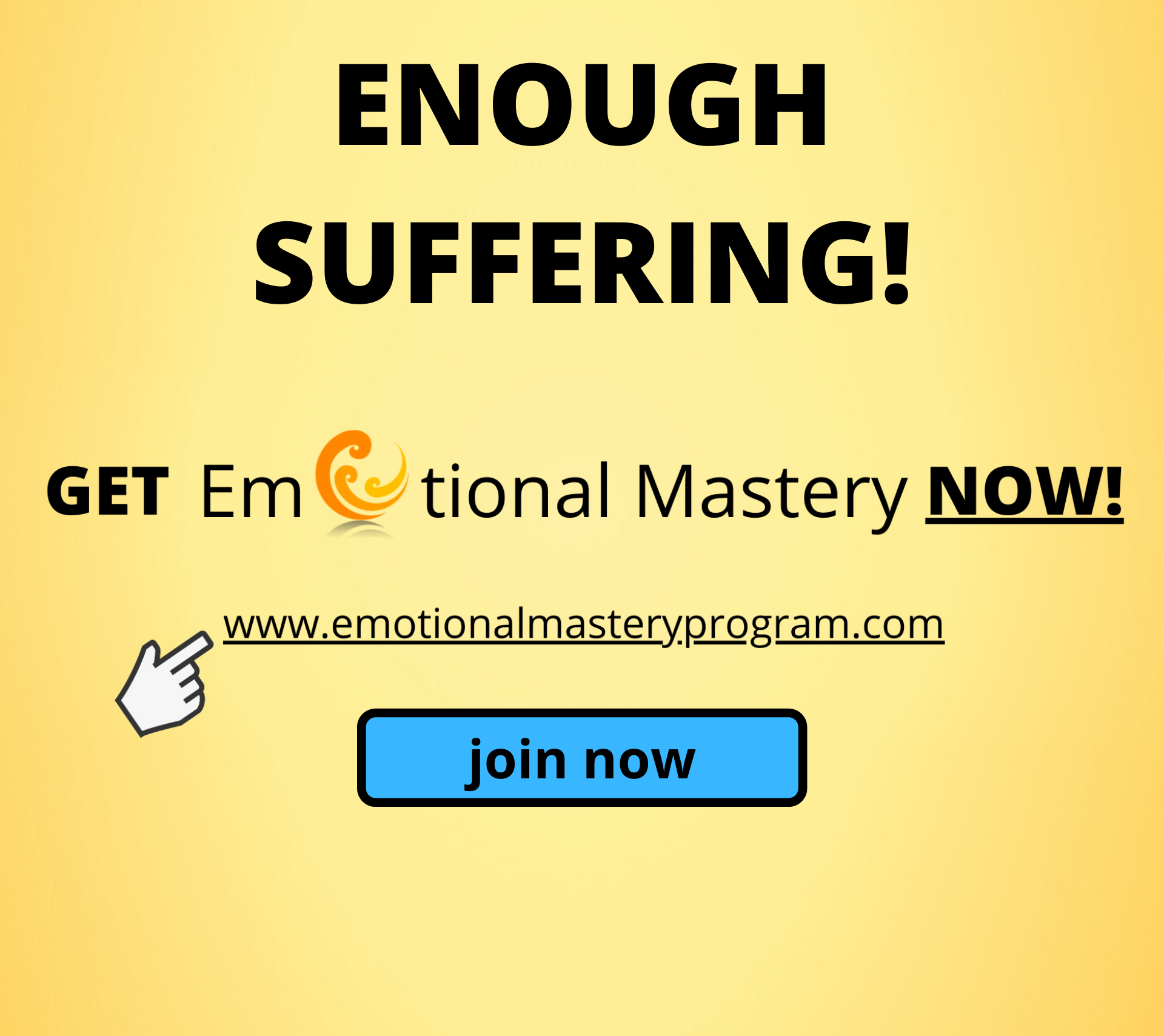 Emotional Mastery Website Ad