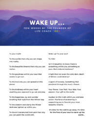 Life Coach Code Magazine Issue 3 March Page 3
