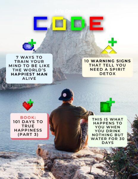 Life Coach Code Issue 8 August 2021 Cover