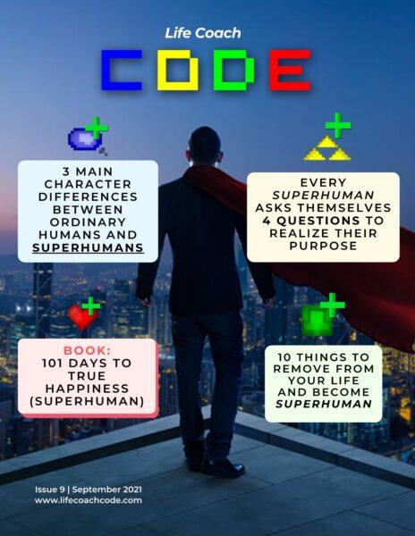 Life Coach Code Magazine September 2021 cover